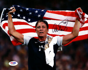 ABBY WAMBACH AUTHENTIC AUTOGRAPHED SIGNED 8X10 PHOTO TEAM USA PSA/DNA 101377