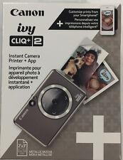 Canon Ivy Cliq+ 2 Instant Camera Printer + App Metallic 2