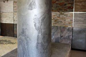 1 Muster Platte Dünnschiefer Furnier Echt Steinwand  Steinfurnier Fliese 15x20cm