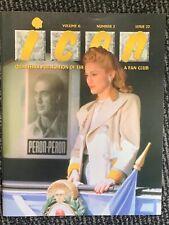 Madonna Icon Magazine 22. FANZINE. USA FANCLUB. MINT. 1996. EVITA Era