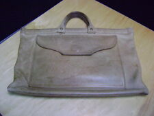 PORTFOLIO BRIEFCASE Vintage Brown Leather CASE Soft Briefcase