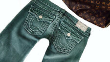 True Religion Jeans Lusso Billy Super T w29 l32 cuciture grassi 100% originale top-ad
