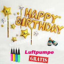 Luftballon set Ballons Folienballon Geburtstag happy birthday Macaron Party 2021