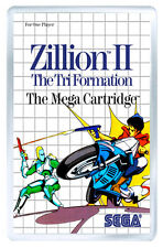 ZILLION 2 MASTER SYSTEM FRIDGE MAGNET IMAN NEVERA