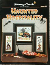 Haunted Hospitality Halloween Stoney Creek Collection Cross Stitch Pattern #83