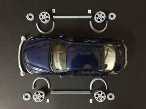 1/24 Kit estetico di trasformazione LWB per Alfa Romeo Giulia adattabile Burago