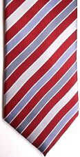 "Van Heusen Men's Polyester Tie 58"" X 3.5"" Multi-Color British Stripes"