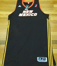 ADIDAS NBA D-LEAGUE REVOLUTION 30 NEW MEXICO T-BIRDS AUTHENTIC BLANK JERSEY 3XL4