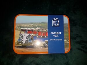 Apples To Pears - Build Gift In A Tin - Camper Van Construction Kit - BRAND NEW