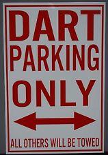 METAL STREET SIGN DART PARKING ONLY DODGE GT GTS 340 383 440 426 HEMI SS/AA