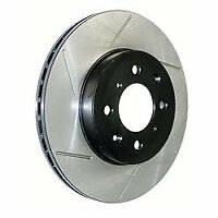 StopTech (126.61044SL) Power Slot 94-04 Mustang Front Left Slotted Rotor