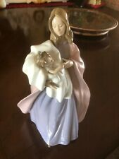 "Lladro Nao ""A Mother's Touch"" Large Porcelain Figurine"