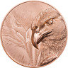 MAJESTIC EAGLE 2020 Mongolia 50g proof copper coin