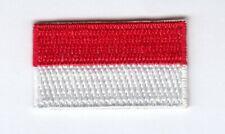 Indonesien Mini Aufbügler,Aufnäher,Patch 3,5 * 2,0 cm Indonesia