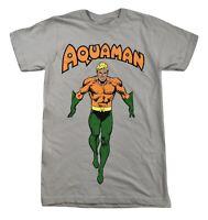 DC Comics Mens Aquaman Shirt New XS, S, M