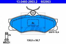 Bremsbelagsatz, Scheibenbremse für Bremsanlage Vorderachse ATE 13.0460-2903.2