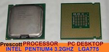CPU PROCESSORE INTEL Pentium4 P4 3.2GHZ FSB800 540J SOCKET LGA775 SL7PW Prescott