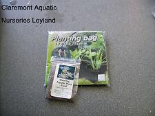 Aquatic planting bag 18x18x18cm (+ free waterlily fertiliser)