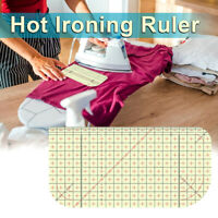 Ironing Ruler Patchwork Tailor Craft DIY Sewing Supplies Measuring Tool YK