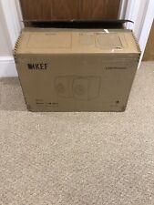 KEF LS50W Wireless speakers (gloss black with blue woofer)