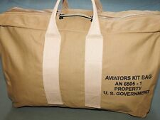 US Army AAF WW2 EASTMAN PILOT KHAKI AVIATOR'S KIT BAG MINT NWT Flight Carry Pack
