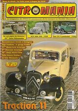 CITROMANIA 20 TAXI CITROEN C4L LANDAULET 1930 TRACTION 11AL 1936 2CV AZU 250 59