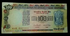 India Rs.100 Rupees AGRICULTURE Issue Sign by I G Patel  UNC Note