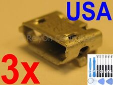 3x Lot of Micro USB Charging Port Charger Connector For Dragon Touch Tablet USA