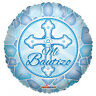 "Baptism Balloon 18"" Mi Bautizo Spanish Mylar Foil Blue Party Decorations Gifts"