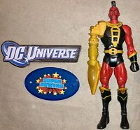 DC Universe Classics Ultra Humanite BAF Build A Figure Wave 14 Tyr & Stand Lot