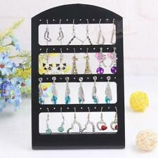 48 Holes Earrings Ear Studs Display Rack Stand Jewelry Showcase Organizer Holder