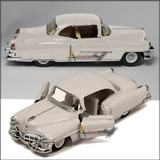 Kinsmart 1953 WHITE Cadillac Series 62 HARD TOP 1:43 Scale Die Cast NO-BOX