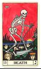 A5 Print – Tarot Cards DEATH (Picture Poster Art Playing Card Wicca Magic)