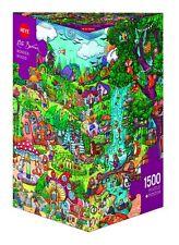 Heye Puzzles - Triangular Jigsaw Puzzle , Wonderwoods, Berman HY29792