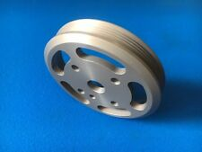 Ford Focus RS/ST Mk2 Billet CNC Machined Lightweight Crank Pulley Anodised Grey