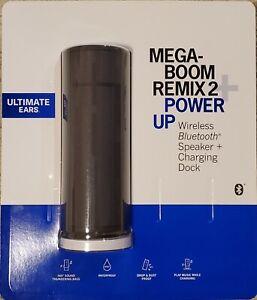 Logitech Ultimate Ears UE Megaboom Remix 2 Speaker + PowerUp Charging Dock