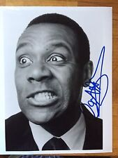 GENUINE HAND SIGNED LENNY HENRY 8x10 PHOTO