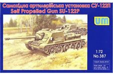 UNIMODELS 387 1/72 SU-122 P Soviet self-propelled art. Gun