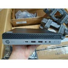 MINI DESKTOP HP MP9 G4 Core i3 8th 8100T 3.1GHz 8GB DDR4 256GB SSD NEW