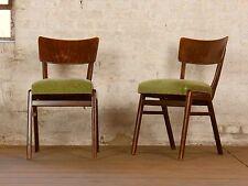 1/10 60er Kneipenstuhl Esszimmer Bar Gastro Stuhl Side Vintage Chair 50s 60s