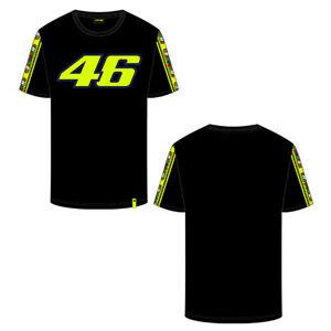 Valentino Rossi Herren Bänder Silverstone T-Shirt Offizieller Fanartikel VR46