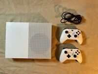 Microsoft Xbox One S 500GB- 2 Controllers And 4 Games!