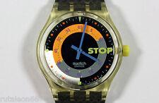 SWATCH original Swiss made GENT STOP SSK100 quartz watch New old stock
