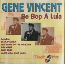 Gene Vincent   CD   Be bop a lula (compilation, 19 tracks, #grf055)