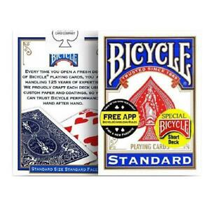 Bicycle Standard Playing Cards - Poker Made In USA - Blue Deck - *Free Postage