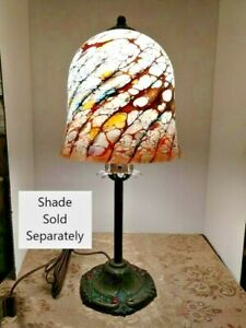 VTG Art Deco Spanish Rev Arts & Craft Baroque Lamp Base 1900-1940 Shade Optional