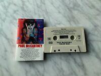 Paul McCartney Tug Of War CASSETTE Tape Columbia 1982 The Beatles Ringo Starr