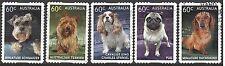 Australia 2013 DOGS (5) Peel & Stick Used (M155b)