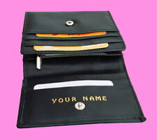 Ladies purse Personalised with any name Mothers Day Cows leather Gift idea