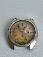 PARTS OR RESTORATION PROJECT SEIKO GOLD 6139-6012 CHRONOGRAPH FAST DELIVERY